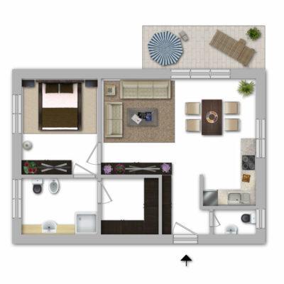 *Neubau-Schlüsselfertig-Provisionsfrei* 2 Zimmer mit Balkon zur Eigennutzung oder als Kapitalanlage 2